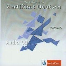 Mit Erfolg zum Zertifikat Deutsch płyta CD audio Testbuch (CD)