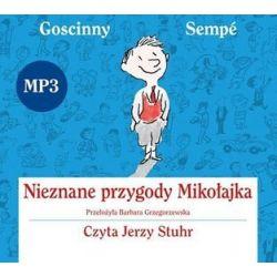 Nieznane Przygody Mikołajka - książka audio na CD - René Goscinny, Jean-Jacques Sempé
