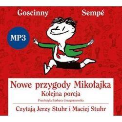 Nowe Przygody Mikołajka. Kolejna porcja - książka audio na CD - René Goscinny, Jean-Jacques Sempé