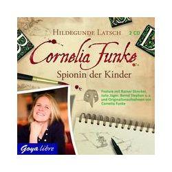 Hörbücher: Cornelia Funke. Spionin der Kinder  von Hildegunde Latsch