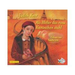Hörbücher: Als Hitler das rosa Kaninchen stahl  von Judith Kerr