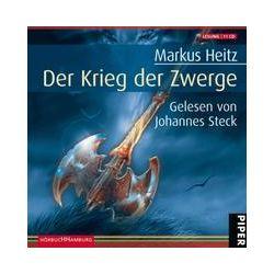 Hörbücher: Die Zwerge 2. Der Krieg der Zwerge. Sonderausgabe  von Markus Heitz