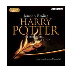 Hörbücher: Harry Potter 5 und der Orden des Phönix. Ausgabe für Erwachsene  von Joanne K. Rowling
