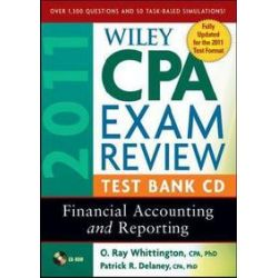 Hörbücher: Wiley CPA Exam Review 2011 Test Bank CD  von Patrick R Delaney