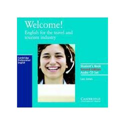 Hörbücher: Welcome Audio Cassette Set (2 Cassettes): English for the Travel and Tourism Industry  von Jones Leo