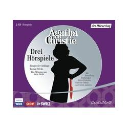 Hörbücher: Drei Hörspiele  von Agatha Christie