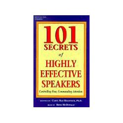 Hörbücher: 101 Secrets of Highly Effective Speakers: Controlling Fear, Commanding Attention  von Caryl Rae Krannich