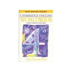 Hörbücher: Cambridge English Worldwide 4 Class Cassette (British Voices)  von Diana Hicks, Andrew Littlejohn