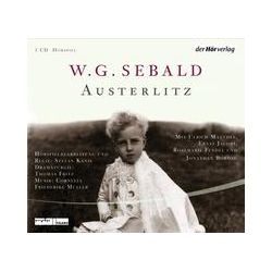 Hörbücher: Austerlitz  von Winfried Georg Sebald von Stefan Kanis