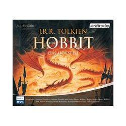 Hörbücher: Der Hobbit. Sonderausgabe. 4 CDs  von J. R. R. Tolkien von Heinz D. Köhler