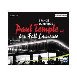 Hörbücher: Paul Temple und der Fall Lawrence  von Francis Durbridge von Eduard Hermann