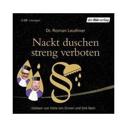 Hörbücher: Nackt duschen streng verboten  von Roman Leuthner