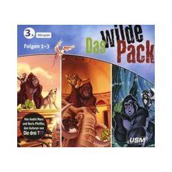 Hörbücher: Das wilde Pack Hörbox Folgen 1-3  von Boris Pfeiffer, André Marx