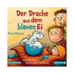 Hörbücher: Der Drache aus dem blauen Ei  von Nina Blazon
