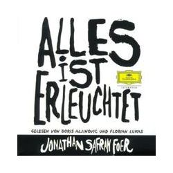 Hörbücher: Alles ist erleuchtet, 6 Audio-CDs  von Jonathan Safran Foer