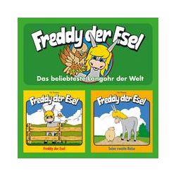 Hörbücher: Freddy der Esel - Folge 1 & 2  von Olaf Franke, Tim Thomas