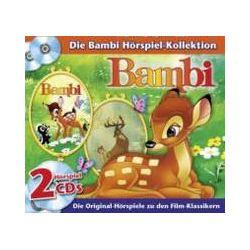 Hörbücher: Disney Kinoklassiker. Bambi 1 und 2