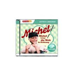 """Hörbücher: Michel Hörspiel 03 """"Michel bringt die Welt in Ordnung""""  von Astrid Lindgren"""