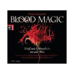 Hörbücher: Blood Magic - Weiß wie Mondlicht, rot wie Blut  von Tessa Gratton