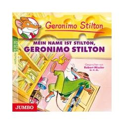 Hörbücher: Geronimo Stilton 01. Mein Name ist Stilton, Geronimo Stilton  von Geronimo Stilton
