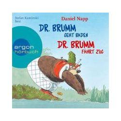 Hörbücher: Dr. Brumm geht baden / Dr. Brumm fährt Zug  von Daniel Napp