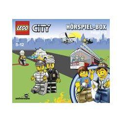 Hörbücher: LEGO City Hörspiel 1-3 Box (CD Box)