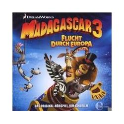 Hörbücher: Madagascar 3 - Flucht durch Europa