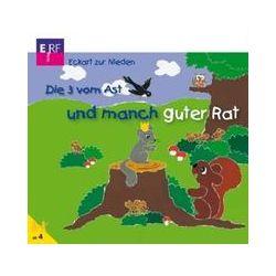 Hörbücher: Die 3 vom Ast und manch guter Rat, 1 Audio-CD  von Eckart Zur Nieden von Eberhard Rink