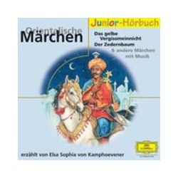 Hörbücher: Orientalische Märchen. 2 CDs  von Elsa S. Kamphoevener