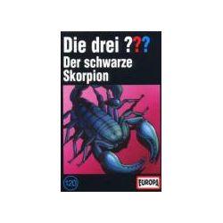 Hörbücher: Die drei ??? 120: Der schwarze Skorpion (MC)  von Alfred Hitchcock, Oliver Rohrbeck, Jens Wawrczeck