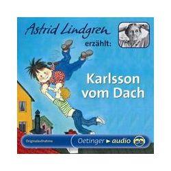 Hörbücher: Karlsson vom Dach. 2 CDs  von Astrid Lindgren