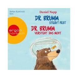 Hörbücher: Dr. Brumm versteht das nicht / Dr. Brumm steckt fest  von Daniel Napp