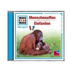 Hörbücher: Was ist Was 33. Menschenaffen / Elefanten  von Haderer Kurt von Kristiane Semar