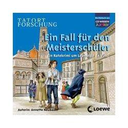 Hörbücher: TATORT FORSCHUNG: Ein Fall für den Meisterschüler - Ein Ratekrimi um Leonardo da Vinci  von Annette Neubauer
