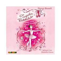 Hörbücher: Die magischen Ballettschuhe 02. Violetta und der Tanz der Zuckerfee  von Darcey Bussell