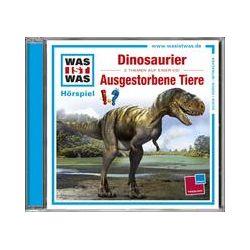 Hörbücher: Was ist was Hörspiel-CD: Dinosaurier/ Ausgestorbene Tiere  von Manfred Baur von Kristiane Semar