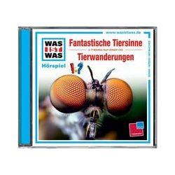 Hörbücher: Was ist was Hörspiel-CD: Fantastische Tiersinne/Tierwanderungen  von Manfred Baur von Kristiane Semar