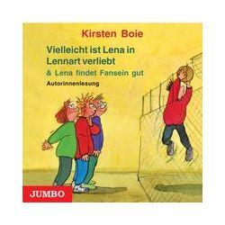 Hörbücher: Vielleicht ist Lena in Lennart verliebt / Lena findet Fansein gut  von Kirsten Boie