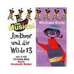 Hörbücher: Jim Knopf und die Wilde 13. Das neue Musical. CD  von Michael Ende, Christian Berg, Konstantin Wecker