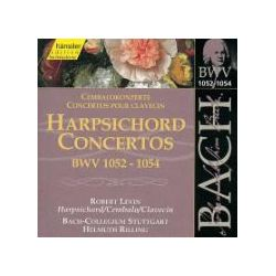 Hörbücher: Cembalokonzerte BWV 1052-1054  von Helmuth Rilling