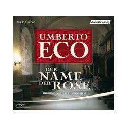 Hörbücher: Der Name der Rose  von Umberto Eco