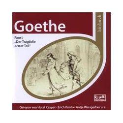 Hörbücher: Faust - Der Trägodie erster Teil  von Johann Wolfgang Goethe