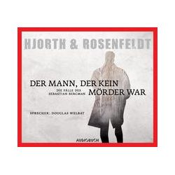 Hörbücher: Der Mann, der kein Mörder war  von Hans Rosenfeldt, Michael Hjorth von Julian Wollny