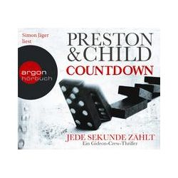 Hörbücher: Countdown - Jede Sekunde zählt  von Douglas Preston, Lincoln Child