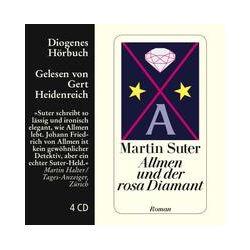 Hörbücher: Allmen und der rosa Diamant,  Band 2  von Martin Suter von Günther Krusemark