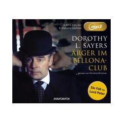 Hörbücher: Ärger im Bellona Club (MP3-CDs)  von Dorothy Leigh Sayers von Waltraud Brückner