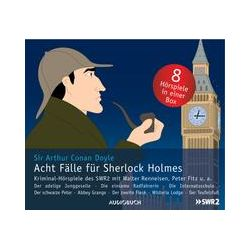 Hörbücher: Acht Fälle für Sherlock Holmes  von Arthur Conan Doyle