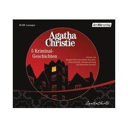 Hörbücher: Fünf Kriminal-Geschichten  von Agatha Christie