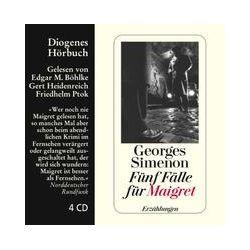 Hörbücher: Fünf Fälle für Maigret  von Georges Simenon