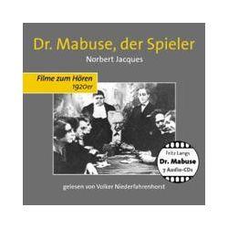 Hörbücher: Doktor Mabuse, der Spieler, 7 Audio-CDs  von Fritz Lang , Norbert Jacques